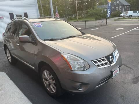 2011 Nissan Rogue for sale at 5 Corner Auto Sales Inc. in Brockton MA