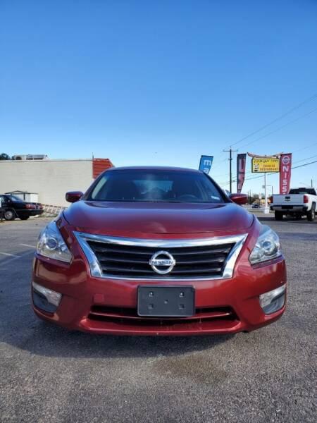 2013 Nissan Altima for sale at Progressive Auto Plex in San Antonio TX