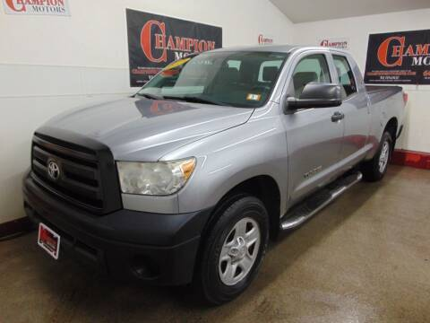 2013 Toyota Tundra for sale at Champion Motors in Amherst NH