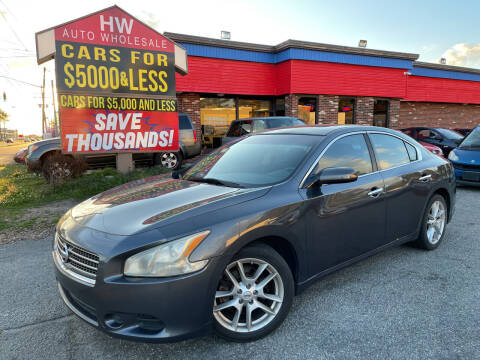 2011 Nissan Maxima for sale at HW Auto Wholesale in Norfolk VA