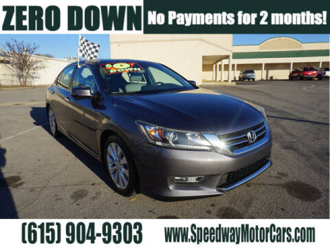 2013 Honda Accord for sale at Speedway Motors in Murfreesboro TN