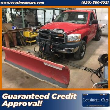 2006 Dodge Ram Pickup 2500 for sale at CousineauCars.com - Guaranteed Credit Approval in Appleton WI