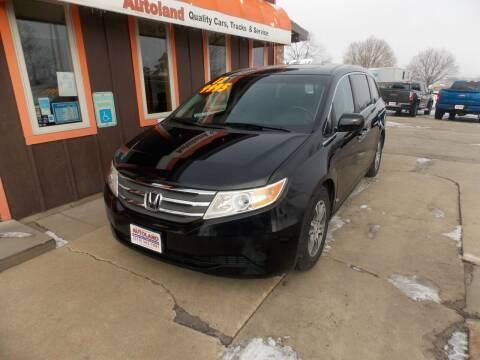 2012 Honda Odyssey for sale at Autoland in Cedar Rapids IA