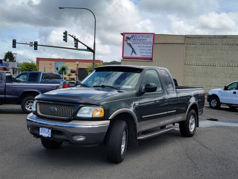 2003 Ford F-150 for sale at Aberdeen Auto Sales in Aberdeen WA