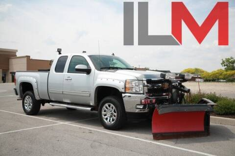2013 Chevrolet Silverado 2500HD for sale at INDY LUXURY MOTORSPORTS in Fishers IN