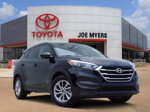 2018 Hyundai Tucson for sale at Joe Myers Toyota PreOwned in Houston TX