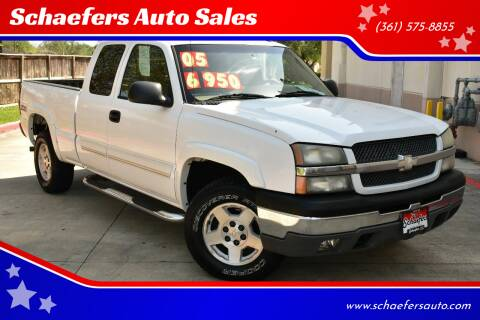 2005 Chevrolet Silverado 1500 for sale at Schaefers Auto Sales in Victoria TX