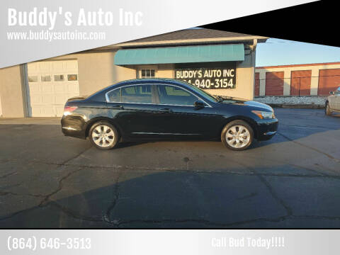 2010 Honda Accord for sale at Buddy's Auto Inc in Pendleton SC