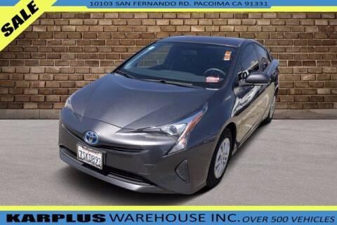 2016 Toyota Prius for sale at Karplus Warehouse in Pacoima CA