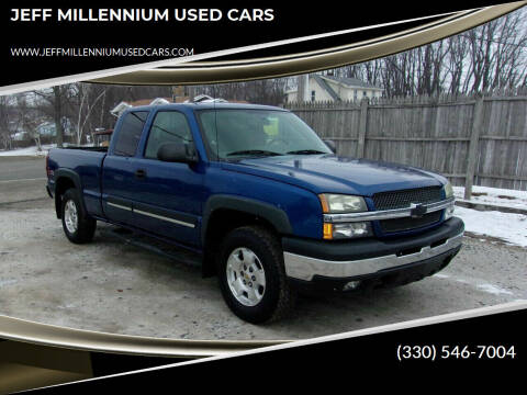 2004 Chevrolet Silverado 1500 for sale at JEFF MILLENNIUM USED CARS in Canton OH