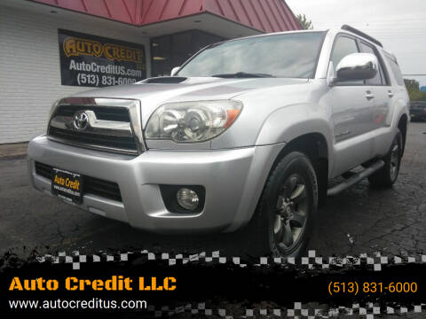 2006 Toyota 4Runner for sale at Auto Credit LLC in Milford OH