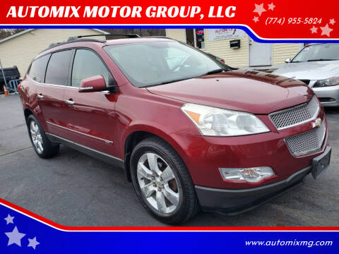 2010 Chevrolet Traverse for sale at AUTOMIX MOTOR GROUP, LLC in Swansea MA