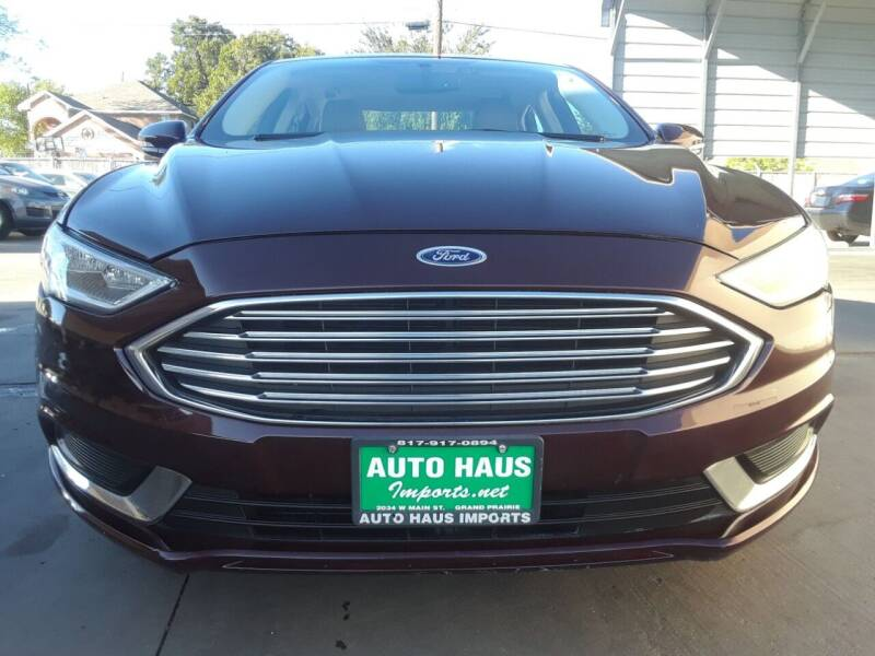 2017 Ford Fusion for sale at Auto Haus Imports in Grand Prairie TX