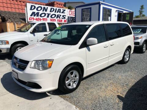 2012 Dodge Grand Caravan for sale at DON DIAZ MOTORS in San Diego CA