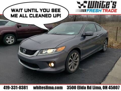 2013 Honda Accord for sale at White's Honda Toyota of Lima in Lima OH