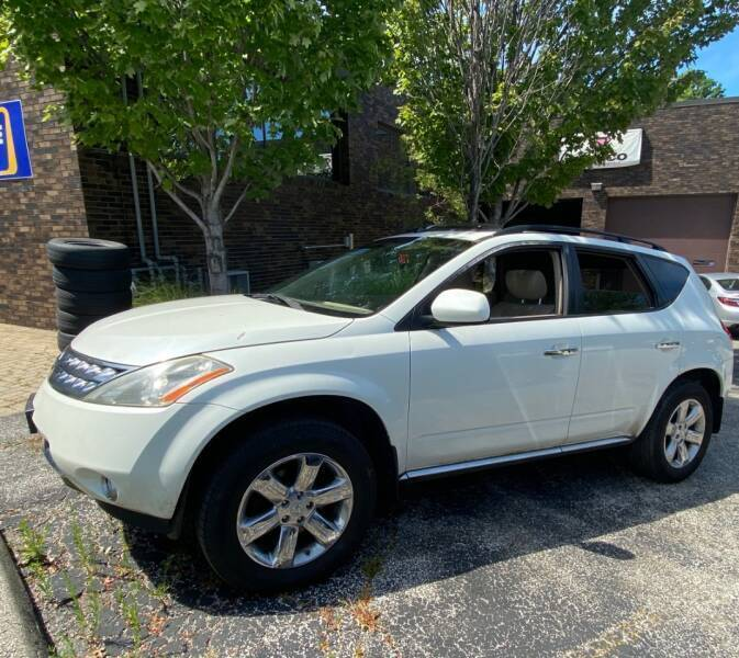 2007 Nissan Murano for sale at VENTURE MOTORS in Wickliffe OH