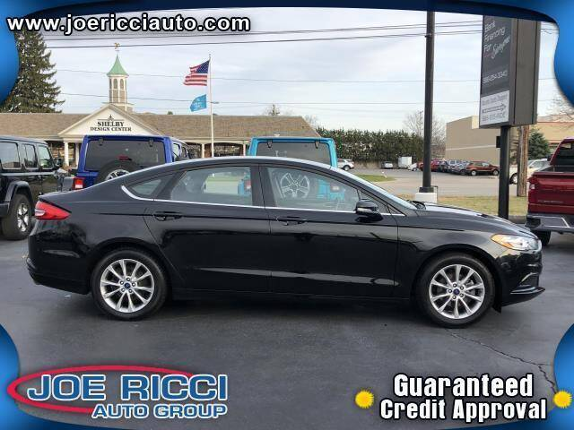 2017 Ford Fusion for sale at Mr Intellectual Cars in Shelby Township MI