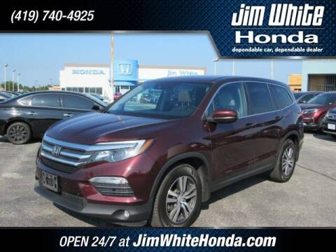 2017 Honda Pilot for sale at The Credit Miracle Network Team at Jim White Honda in Maumee OH