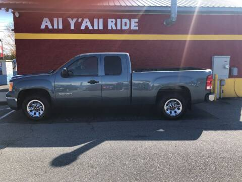 2012 GMC Sierra 1500 for sale at Big Daddy's Auto in Winston-Salem NC