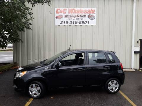 2010 Chevrolet Aveo for sale at C & C Wholesale in Cleveland OH