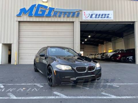 2014 BMW M5 for sale at MGI Motors in Sacramento CA