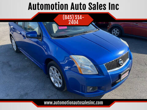 2011 Nissan Sentra for sale at Automotion Auto Sales Inc in Kingston NY