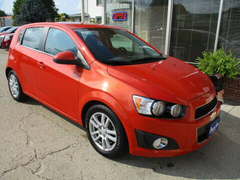 2012 Chevrolet Sonic for sale at Choice Auto in Carroll IA