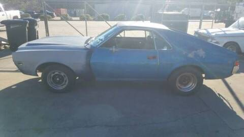1969 AMC AMX for sale at Classic Car Deals in Cadillac MI