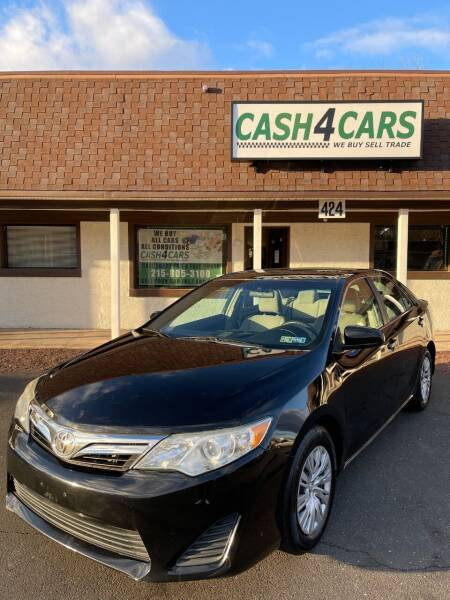 2014 Toyota Camry for sale at Cash 4 Cars in Penndel PA