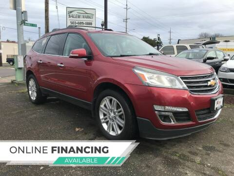 2013 Chevrolet Traverse for sale at Salem Auto Market in Salem OR