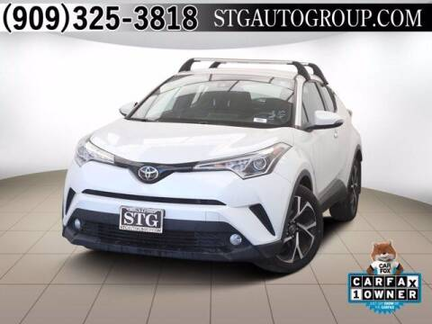 2018 Toyota C-HR for sale at STG Auto Group in Montclair CA