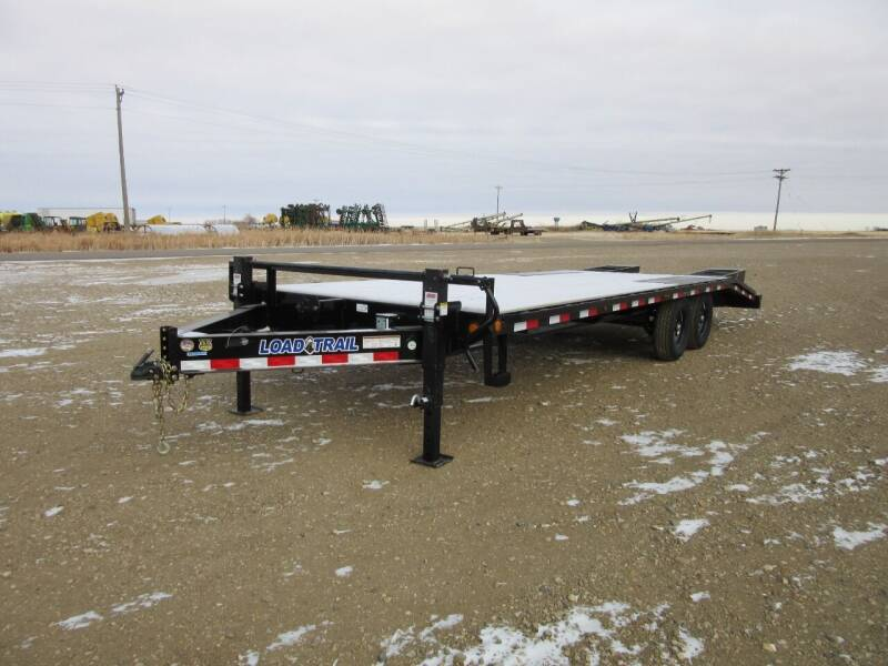 2021 Load Trail Deck Over  25'   14k axles for sale at Nore's Auto & Trailer Sales - Equipment Trailers in Kenmare ND