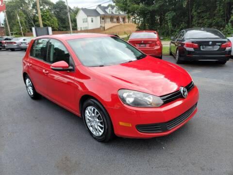 2011 Volkswagen Golf for sale at GEORGIA AUTO DEALER, LLC in Buford GA