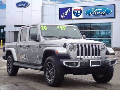 2020 Jeep Gladiator for sale at Szott Ford in Holly MI