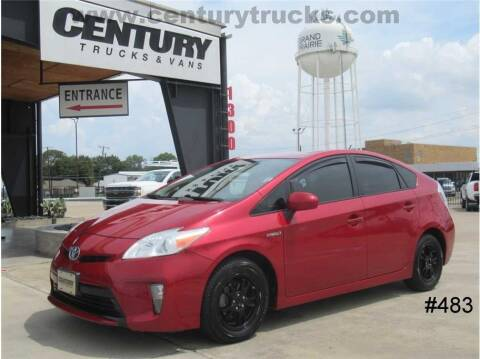 2013 Toyota Prius for sale at CENTURY TRUCKS & VANS in Grand Prairie TX