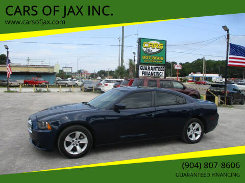 2014 Dodge Charger for sale at CARS OF JAX INC. in Jacksonville FL