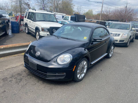 2012 Volkswagen Beetle for sale at Vuolo Auto Sales in North Haven CT