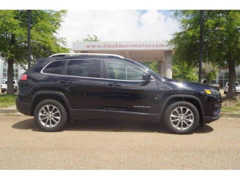 2021 Jeep Cherokee for sale at BLACKBURN MOTOR CO in Vicksburg MS
