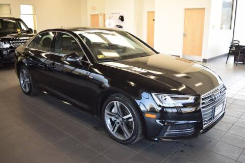 2017 Audi A4 for sale at BMW OF NEWPORT in Middletown RI