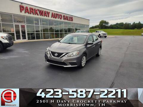2017 Nissan Sentra for sale at Parkway Auto Sales, Inc. in Morristown TN
