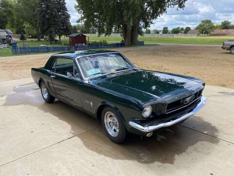 1966 Ford Mustang for sale at B & B Auto Sales in Brookings SD