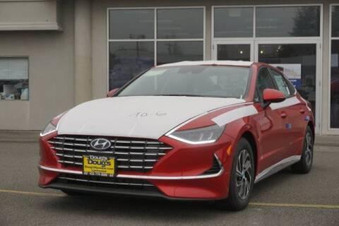 2020 Hyundai Sonata Hybrid for sale at Jeremy Sells Hyundai in Edmunds WA
