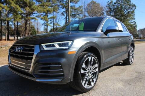 2018 Audi SQ5 for sale at Oak City Motors in Garner NC