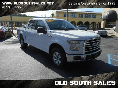 2016 Ford F-150 for sale at OLD SOUTH SALES in Vero Beach FL