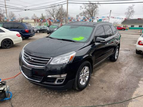 2014 Chevrolet Traverse for sale at Antique Motors in Plymouth IN