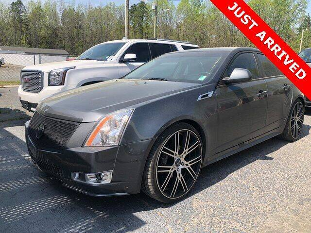 2011 Cadillac CTS for sale at Brandon Reeves Auto World in Monroe NC