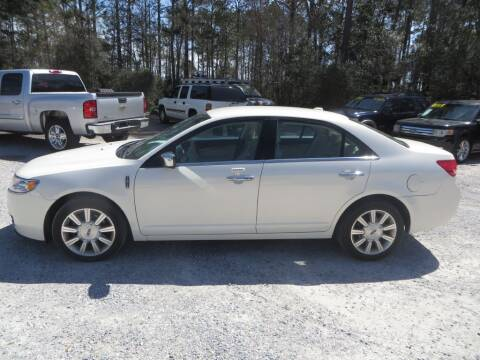 2012 Lincoln MKZ for sale at Ward's Motorsports in Pensacola FL