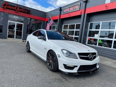 2012 Mercedes-Benz C-Class for sale at Goodfella's  Motor Company in Tacoma WA