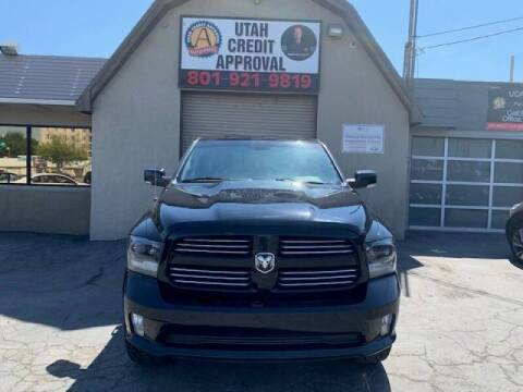 2015 RAM Ram Pickup 1500 for sale at Utah Credit Approval Auto Sales in Murray UT