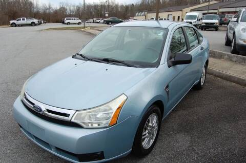 2008 Ford Focus for sale at Modern Motors - Thomasville INC in Thomasville NC